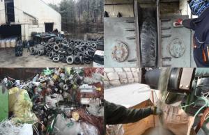 '극한직업' 쓰레기에서 찾은 보물, 폐타이어, 유리병, 폐비닐, 우유 팩