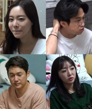 '동상이몽 2' 송창의 오지영, 박성광 이솔이 부부 집에 초대... 살벌한 부부싸움 MC들 당혹