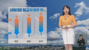 [오늘의 날씨], 전국 대체로 맑음 당분간 대기 건조 낮 최고 23도 미세먼지 보통