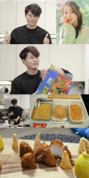 '편스토랑' 류수영, 아내 박하선 반응 폭발적이라는 과자 피시 앤드 칩스 레시피 공개