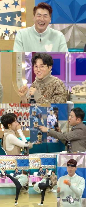 라스 김광현 친구 박성광, 야구 때문에 부모님 이혼할 뻔한 웃픈 스토리 공개