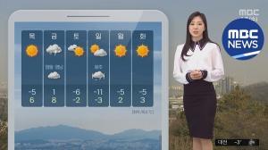 [오늘의 날씨] 기온 오르면서 포근 모레까지 평년 기온 웃돌아 낮 최고 13도 미세먼지 나쁨