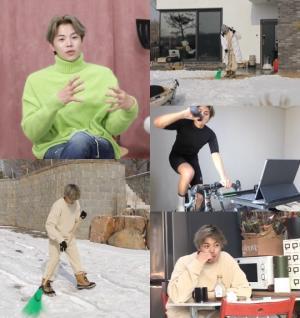 '나 혼자 산다' 박은석, 집에서 선보이는 쉴 틈 없이 돌아가는 전원생활